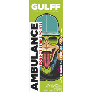 Gulff UV Resin Ambulance Chartreuse